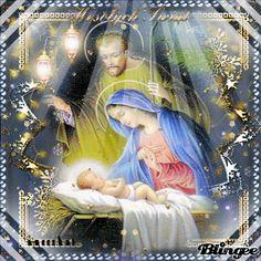 Meilleurs voeux Christmas Nativity, Christmas Angels, Christmas Art, Winter Christmas, Christmas Glitter, Vintage Christmas Cards, Christmas Greeting Cards, Christmas Greetings, Christmas Scenery