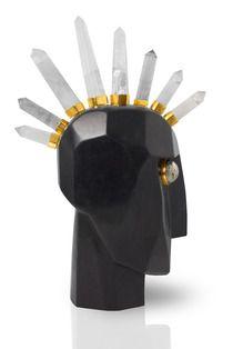 Head Trip Sculpture #KellyWearstler #sculpture #interiordesign