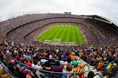 Estadio Camp Nou. / Autor: Germán Parga. / Cedida por: FC Barcelona.