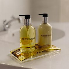 "MOLTON BROWN - thrilled that MB are now accredited with ""Leaping Bunny"" logo - I can buy these now!!"