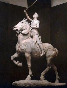 Statue of Joan of Arc by Anna Hyatt Huntington, 1915.