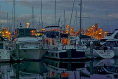 Washington State: Marina in Seattle