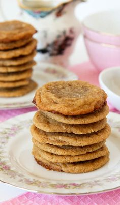 Peanut butter cookies I must try..