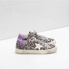 Nuevo 2017 Golden Goose Deluxe Brand May Hombre GGDB Sneakers Leopard.  Chaussures Noires, Chaussures Femme, Cuir ... aecf2e92ad7f