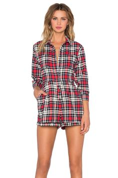 Evil Twin Big Wednesday Romper in Multi