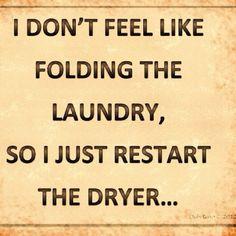 ...or hanging so rewash