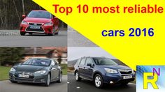 Car Review - Top 10 Most Reliable Cars 2016 - Read Newspaper Tv