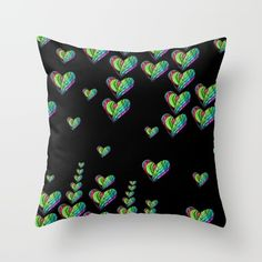 #drawing #painting #abstractpainting #pillow #extravagant #chic #love #heart