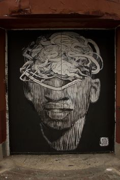 Street art | Mural collaboration (New York City, USA) by Axel Void and LNY Lunar New Year