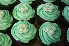 Girl Scout cupcakes.