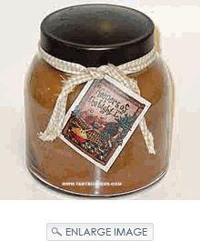 Keepers of the Light Papa Jar - Praline Caramel Sticky Buns. Large Selection Keepers of the Light Candles.