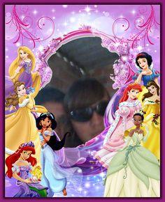 michelyMoldura de Fotos Princesas Disney
