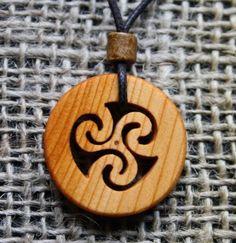 Jewellery at Fretmajic- Celtic Wooden Jewellery