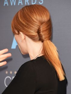 Bryce Dallas Howard made a twist with her red carpet hair