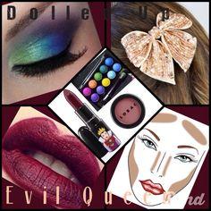 Evil Queen makeup palette