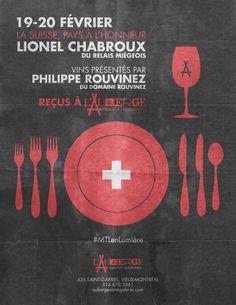 Ne manquez pas la chance de goûter à la cuisine du chef étoilé Lionel Chabroux et de savourer les vins du Domaine Rouvinez pendant l'événement Montréal en Lumière!   Tous les détails sur notre site! #MTLenLumière