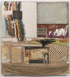 Robert Rauschenberg, Short Circuit 1955 on ArtStack #robert-rauschenberg #art
