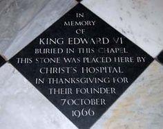 Westminster Abbey » Edward VI
