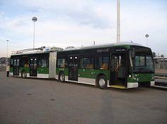 Van Hool AG300T's articulated trolleybuses in Milan