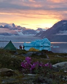 Greenland - camping there is definitely on my bucket list.