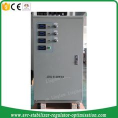 Fully automatic 3 phase voltage stabilizer 30kva