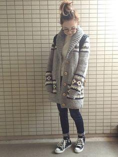 Cowichan Sweater, New Look, Knitting Patterns, Knit Crochet, Fur Coat, Winter Jackets, Jewels, Sweaters, Winter