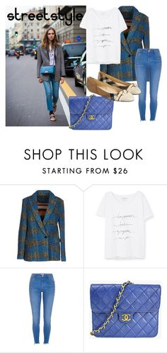 """""""Streetstyle #50"""" by romi-kella on Polyvore featuring Chiara Ferragni, Phonz Says Black, MANGO, Chanel and Burberry"""
