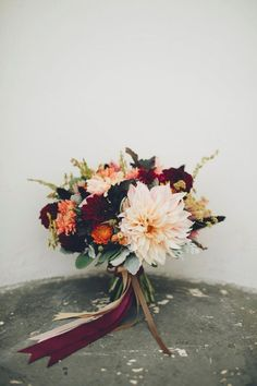 25 bouquets de mariée colorés