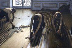 Gustave Caillebotte - Les-Raboteurs de Parquet