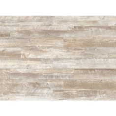 Style Selections Natural Timber Whitewash Porcelain Thinset Mortar Floor and Wall Tile (Common: 6-in x 36-in; Actual: 5.79-in x 35.96-in)
