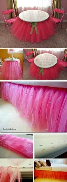 Pretty Tutu without Sewing - DIY