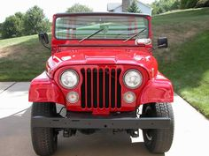 1974 Jeep CJ5 Picture review of Jeeps from 1940 to the present