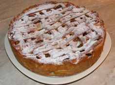 Apple Tart Recipe - Tarta frantuzeasca cu mere Apple Tart Recipe, Apple Pie, Tart Recipes, Deserts, Gluten, Sweets, Cookies, Food, Drinks