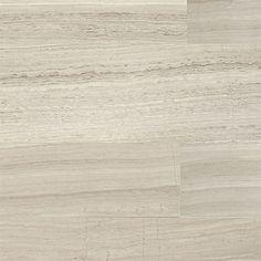Daltile LimeStone 4 x 12 Chenille White Vein Cut Honed L191 412V1U