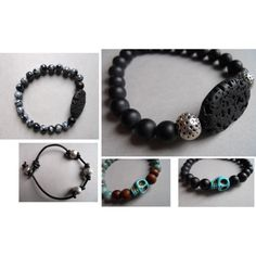 NEW. Sueanne Shirzay Men's Bracelets by sueanne shirzay on Polyvore