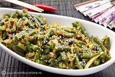 FASOLE VERDE CU SUSAN | Diva in bucatarie Green Beans, Diva, Vegetables, Food, Veggies, Vegetable Recipes, Meals, Yemek, Eten