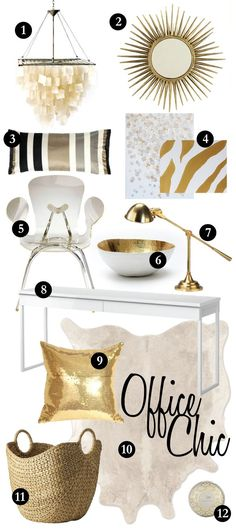 Perfect design items for the office or home! http://www.patriciaalberca.blogspot.com