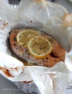 Salmon Recipes, Fish Recipes, Greek Recipes, Fish And Seafood, Food For Thought, Food To Make, Food And Drink, Yummy Food, Favorite Recipes