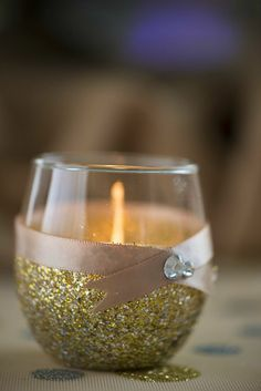 Romantic candles with TC events LLC