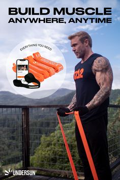 You don't need a commercial gym to get muscular and lean. The Muscle Building Bundle gives you everything you need to train anytime and anywhere – and still get the same results you would at the gym! Here's what the bundle comes with: ✅ 5 Undersun Resistance Bands ✅ TA2 Build 90-Day Program ✅ Undersun Indoor Anchor What are you waiting for? Time to build some muscles! Strength Program, Strength Workout, Muscle Building Program, Resistance Band Exercises, Busy Life, Muscle Groups, Build Muscle, On Set, Workout Programs