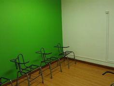 Montagem das cadeiras da Sala Copacabana.