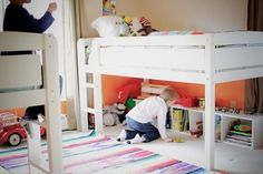 Living With Kids: Kirsty Gungor - two loft beds - then both children could sleep on the top bunk!