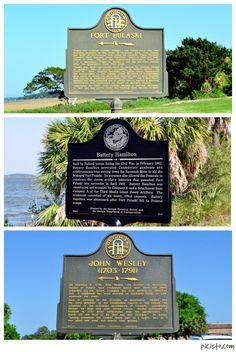 "9 Historical Markers to Visit on Tybee Island - Visit Tybee - Tybee Island, Georgia ""Savannah Beach"" Savannah Georgia, Savannah Chat, Places To Travel, Places To See, Beach Road, Tybee Island, Best Vacations, Beautiful Islands, Historical Sites"