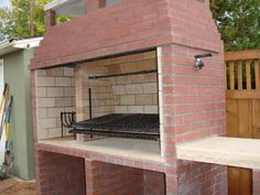 Argentinian Parrilla wood/charcoal grill - Forno Bravo Forum: The Wood-Fired Oven Community Outdoor Kitchen Patio, Pizza Oven Outdoor, Outdoor Kitchen Design, Outdoor Cooking, Outdoor Barbeque, Asado Grill, Bbq Grill, Wood Charcoal, Charcoal Grill