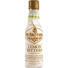 Alcohol & Alcohol Mixers Fee Brothers Black Walnut Bitters 5 Oz Beautiful And Charming