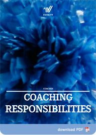 Great to understand what's expected of our coaches so us cheer moms can better support.