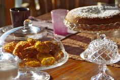 sumptuous breakfast with typical Venetian cakes