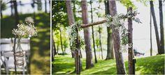 Creative Summer Estate Wedding - Polly + Ryan - The Daily Wedding Ladder Decor, Summer, Wedding, Home Decor, Simple, Creative, Mariage, Homemade Home Decor, Weddings