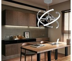 Zen Ellipse - Modern Pendant LED Price: 7381.00 & FREE Shipping #ihomedesign Creative Lamps, Kitchen Lamps, Light Bulb Wattage, My Home Design, Hanging Lights, Zen, Interior Design, Pendant, Modern