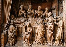 Dormition of the Virgin, Workshop of Tilman Heysacker (ca The Cloisters, Medieval Art, Art Museum, Sculptures, German, Workshop, Statue, Deutsch, Atelier